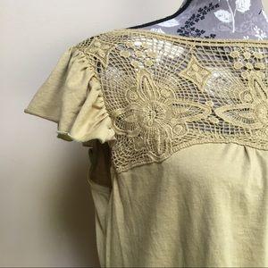 Sundance Tops - Sundance Lace Front Blouse